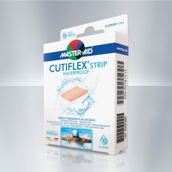 cerotti master aid cutiflex acqua stop strip su...