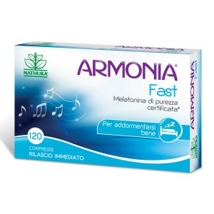 Armonia Fast Melatonina 1mg 120 Compresse