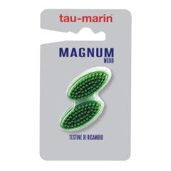 Tau Marin Magnum Testina Ricambio Setole Medie 2 Pezzi