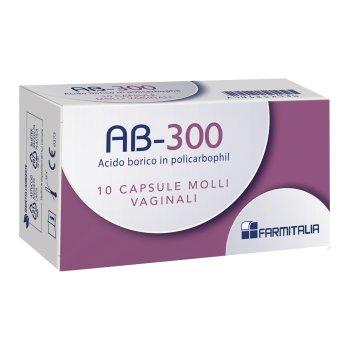 ab 300 capsule vaginali 10 pezzi