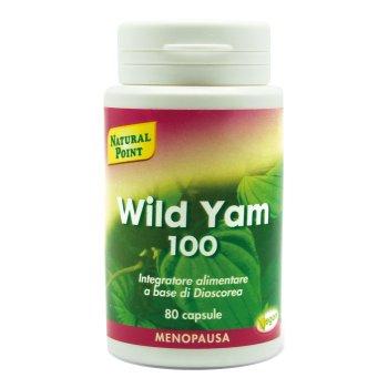 wild yam 100 20% 80cps nat/point