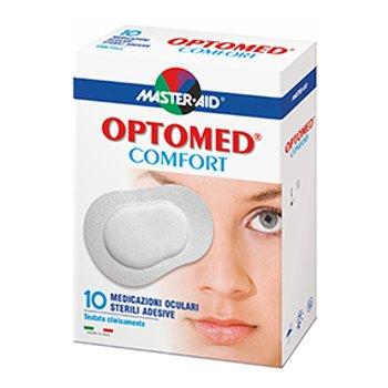 master aid optomed comfort 10 tamponi oculari sterili