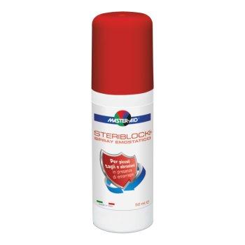 master-aid steriblock spray emostatico 50 ml