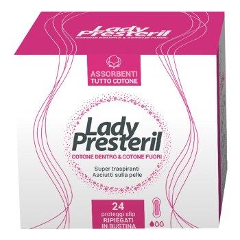 lady presteril proteggi slip cotone pocket 24 pezzi