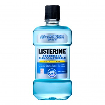 listerine natural whi pro250ml