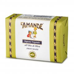 l'amande sapone vegetale olio oliva 200g