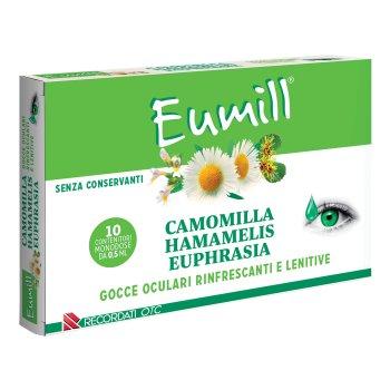 eumil gocce oculari rinfrescanti e lenitive 10 flaconcini 0,5ml