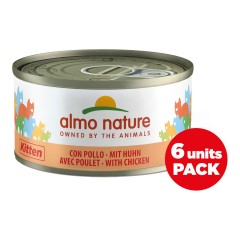 almo nature cat gattini 70g