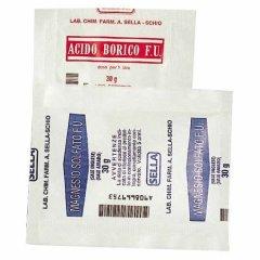 acido borico 1bust 30g sella