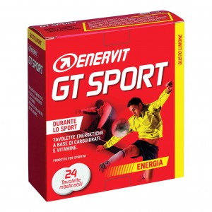 Enervit GT Sport 24 Tavolette Masticabili