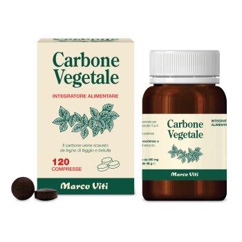carbone vegetale 120 compresse