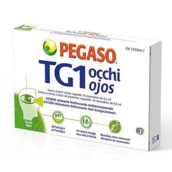 pegaso tg1 occhi gocce oculari 10 flaconcini monodose 0,5ml