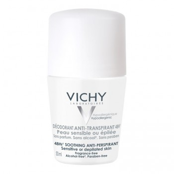 vichy deodorante roll-on pelle sensibile 50 ml