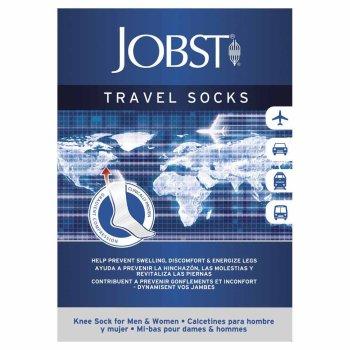 jobst travel socks blu s