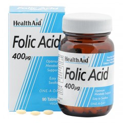 acido folico 90 cps health aid