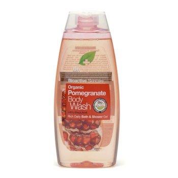 dr organic pomegr body wash