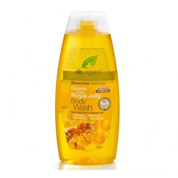 dr organic jelly body wash