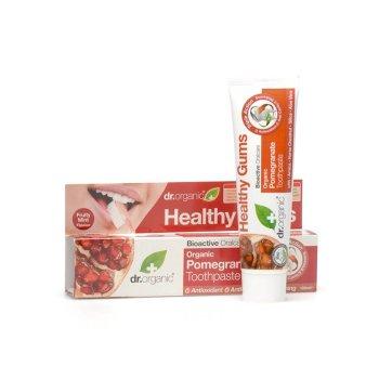 dr organic pomegr toothpaste
