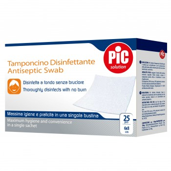 pic tamponcino disinf 25pz