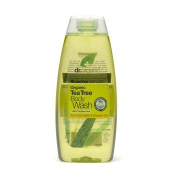 dr organic tea tree oil bagno & doccia 250ml