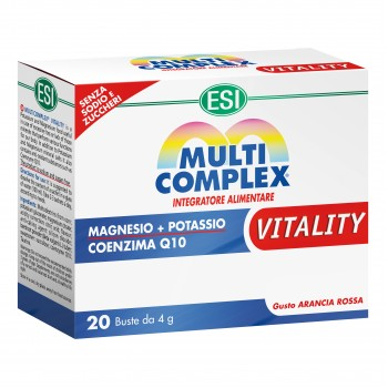 multicomplex vitality 20 bustine 4g