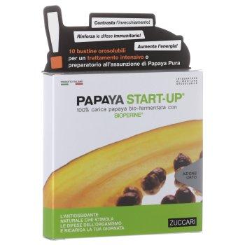 zuccari papaya start up 10 bustine 5g + 5mg