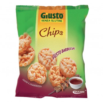 giusto chips barbecue 30g s/gl