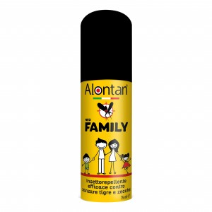 Alontan Family Icaridina 20 % Spray Anti Zanzare 75 ml