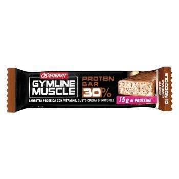 enervit gymline muscle protein bar 30% nocciola 48g