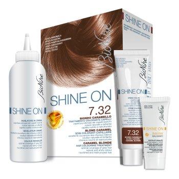 bionike shine on tintura capelli colore 7.3 biondo dorato