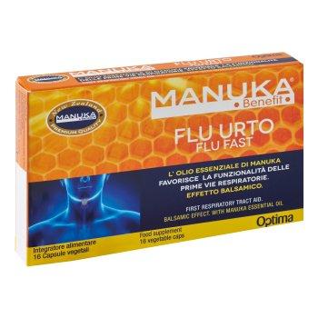 manuka benefit flu urto 16 cps