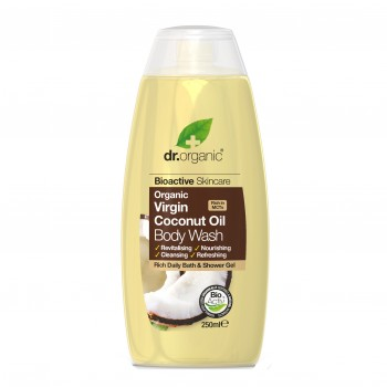dr organic coconut body wash