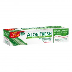 aloe fresh menta crystal dentifricio 100 ml