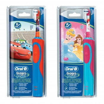 oralb power vitality spazzolino elettrico stages kids