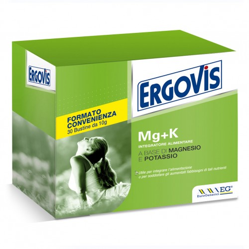 ERGOVIS Mg+K Magnesio e Potassio 30 Bustine