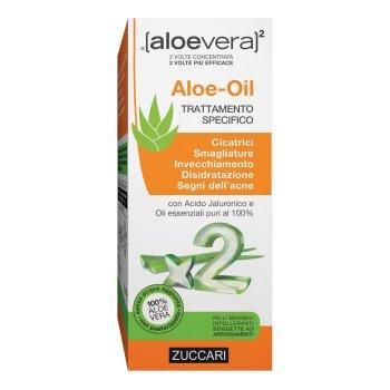 zuccari aloevera2 aloe oil trattamento cicatrici e smagliature 50 ml