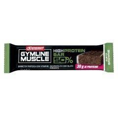 ENERVIT GYMLINE MUSCLE HIGH PROTEIN BARRETTA PROTEICA 50% BROWNIE 60g