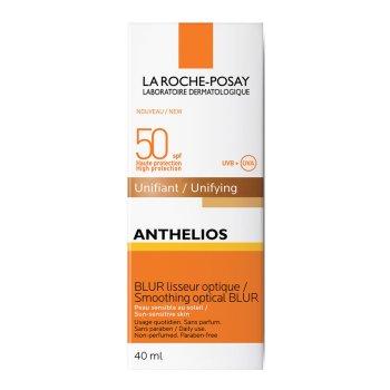 la roche posay anthelios spf50+ crema solare blur levigante ottico uniformante protezione molto alta colore dorè 50 ml