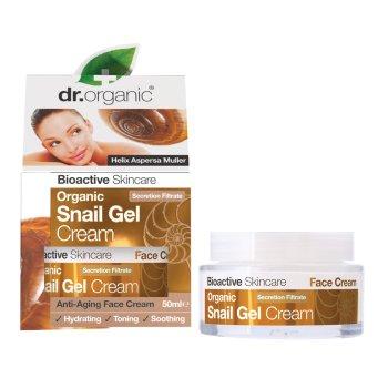 dr organic snail cream 50ml