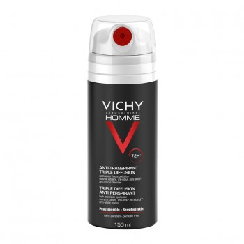 vichy homme deodorante spray 72 h 150 ml