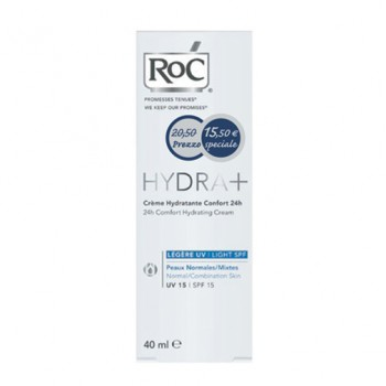 roc hydra+ comfort leg uv 40ml