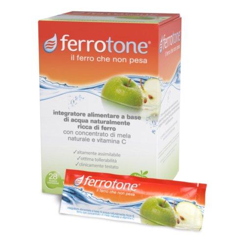 Ferrotone Integratore Ferro 14 Bustine 20 mg