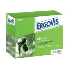ERGOVIS Mg+K Magnesio e Potassio 20 Bustine