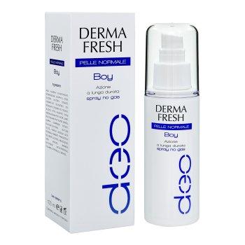 dermafresh boy pelle normale deodorante spray no gas 100ml