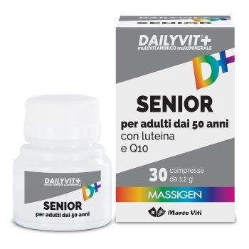 massigen dailyvit+ senior vitamine minerali 30 compresse