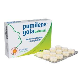 pumilene gola balsamico 24 pastiglie