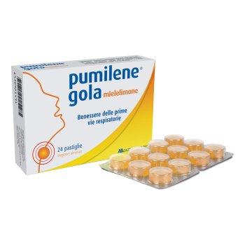 pumilene gola miele limone 24 pastiglie