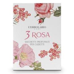 3 rosa sacchetto cassetto
