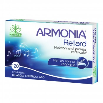 armonia retard melatonina 1mg 120 compresse
