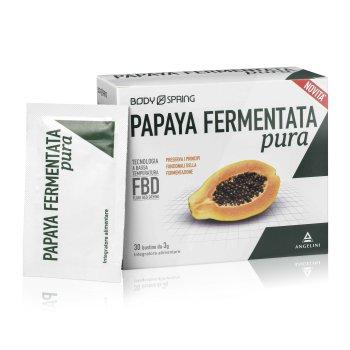 body spring papaya fermentata pura 30  bustine 3g
